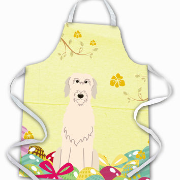 Easter Eggs Irish Wolfhound Apron BB6065APRON