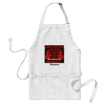 Grill Masters Are Born In February Personalized Adult Apron