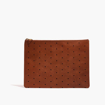 The Large Pouch Clutch: Geo Holepunch Edition