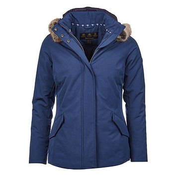 Cheviot Waterproof Breathable Jacket in Royal Blue by Barbour - FINAL SALE
