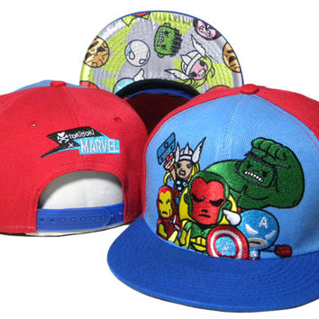TokiDoki Marvel Snap-back Cap for Adults