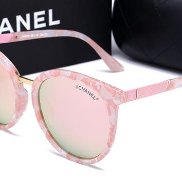 Chanel women's trendy fashion brand beautiful sunglasses F-HWYMSH-YJ #1
