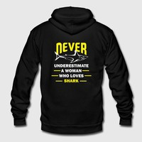 NEVER UNDER ESTIMATE A WOMAN 1 by IM DESIGN CREATIVE | Spreadshirt