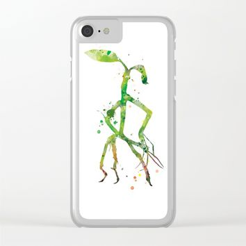 Pickett Bowtruckle Clear iPhone Case by MonnPrint
