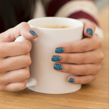 Wave Doodles Nail Coverings