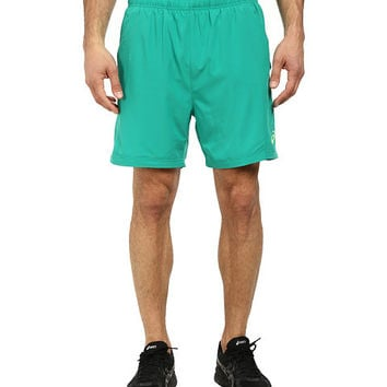 ASICS Men's 2-N-1 Woven 6-Inch Running Shorts - Gecko Green, XX-Large