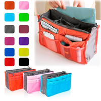 Travel Bag Purse Tidy Large Liner Organizer Women Travel Insert Handbag 12 Color D_L = 1713289284