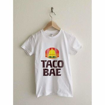 Taco Bae Vintage Print Women's Graphic T Shirt