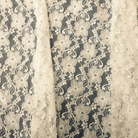 Floral Lace Fabric per yard, Curtain,blinds,veils,table