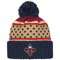 Mitchell & Ness New Orleans Pelicans The Highlands Cuffed Knit In Multicolor