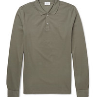 Faconnable - Cotton-Piqué Polo Top | MR PORTER