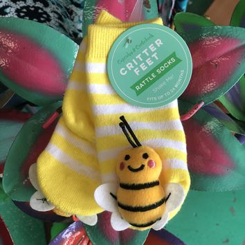 insect rattle socks