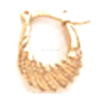 Hoops Earrings 18Kts of Gold Plated