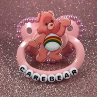 ABDL Carebears Paci from ABPacis 'n Crafts