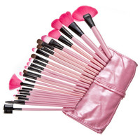24-pcs Fashion 4-pcs Make-up Brush Set = 4831005892