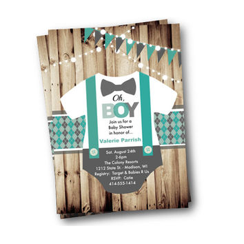 Shop Bow Tie Baby Shower on Wanelo