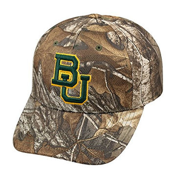 "Baylor Bears NCAA Top of the World ""Xtra"" RealTree Camo Memory Fit Hat"