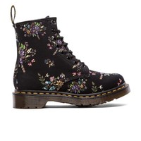 Dr. Martens Castel 8-Eye Boot in Black