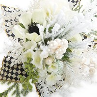 Winter White Rose Bouquet - Small