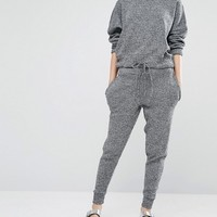 Stitch & Pieces Knitted Joggers at asos.com