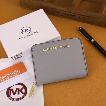 Michael Kors MK Clutch Bag Wristlet Wallet Purse-5