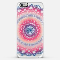 Ocean Sunset Mandala on Clear iPhone 6 Plus case by Tangerine- Tane | Casetify