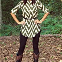 Mississippi Queen Tunic Top