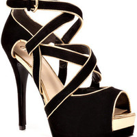 Guess Shoes Gavrila - Black Multi Suede