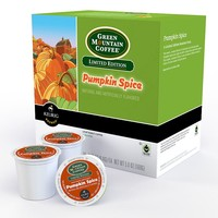 Keurig K-Cup Pod Green Mountain Coffee Pumpkin Spice Coffee - 18-pk. (Green/Cinnamon/Pumpkin)