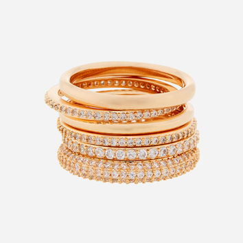 Luxe Pave Henri Stack Set