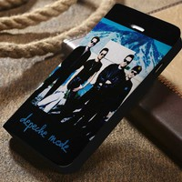Depeche Mode Custom Wallet iPhone 4/4s 5 5s 5c 6 6plus 7 and Samsung Galaxy s3 s4 s5 s6 s7 case