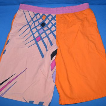 90s U.S Freestyle Surf Men's Swim Shorts Size 34 Medium