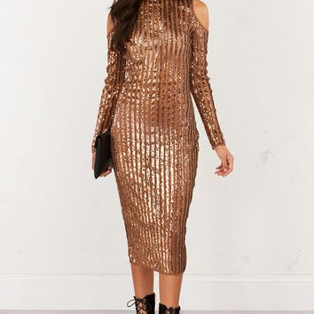 Best Bronze Sequin Dress Products on Wanelo