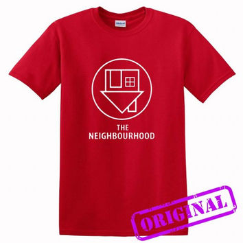 The NBHD The neighbourhood Logo for shirt red, tshirt red unisex adult