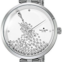 kate spade new york Silvertone Champagne Bottle Watch