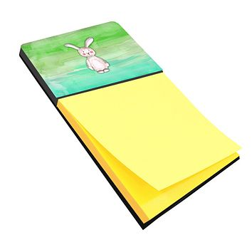 Bunny Rabbit Watercolor Sticky Note Holder BB7437SN