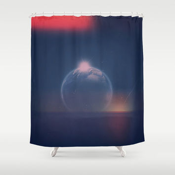 Out There Shower Curtain by DuckyB (Brandi)
