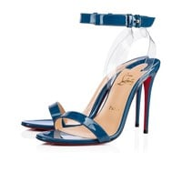 Jonatina 100 Positano/Transp Patent Leather/PVC - Women Shoes - Christian Louboutin