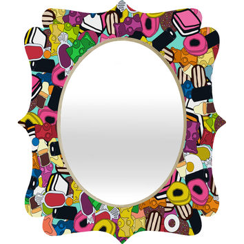 Sharon Turner Sugar Sugar Quatrefoil Mirror