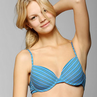 Hot Bottoms Cotton Plunge Bra - Urban Outfitters