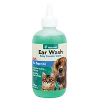 NaturVet Ear Wash with Tea Tree Oil for Pets | Petco