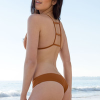 Stone Fox Swim - Jessie Bottom | Bronzed