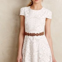 Bruxelles Lace Dress by 4.collective White