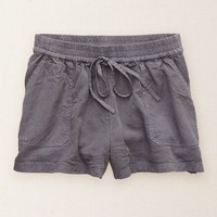 Aerie Women's Drawstring Short (Stone)