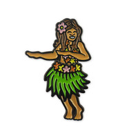 Hula Dancer Shaking Pin