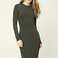 Heather Knit Bodycon Dress