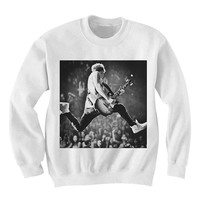 Niall Horan One Direction 1D sweatshirt Black and White Sweatshirt Crewneck Men or Women Unisex Size