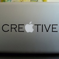 Apple Macbook Vinyl Decal Sticker - Creative