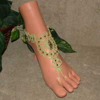 Seahorse Barefoot Sandals, Crochet, Accessories, Clothing, Women's, Sandles, Sandal, Ankle Bracelets , Anklets