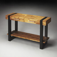 Butler Loft Leopold Reclaimed Wood Console Table